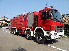 JDX5390GXFSG180水罐消防车