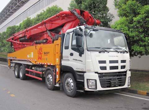 SYM5428THBDW混凝土泵车