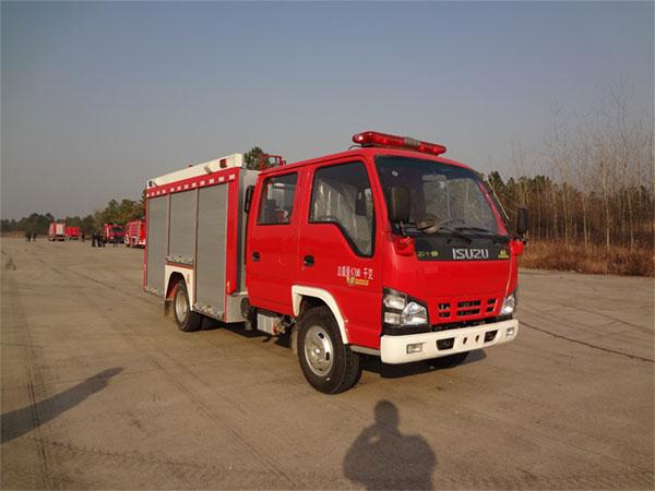 金盛盾牌3吨水罐消防车专业评测