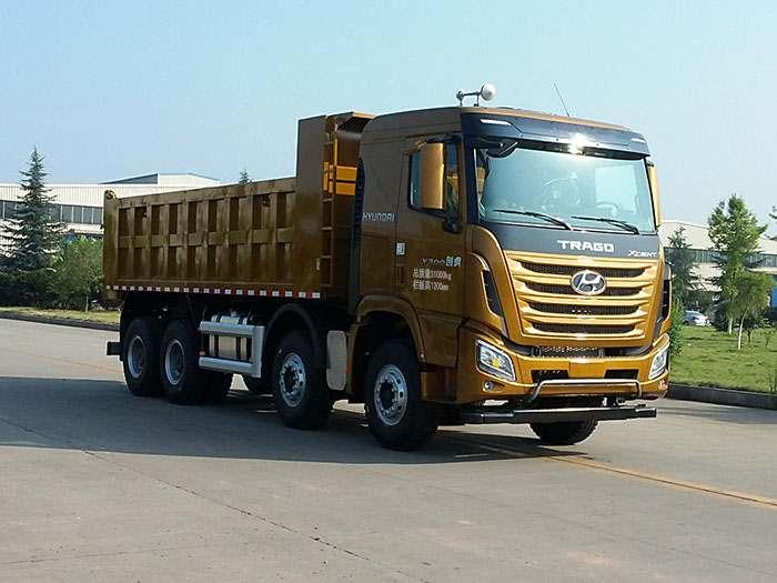 CHM3312KPQ64M自卸汽车底盘