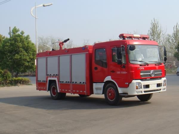 东风天锦6吨泡沫消防车37.6万