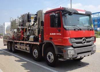 梅赛德斯-奔驰8×4液氮车