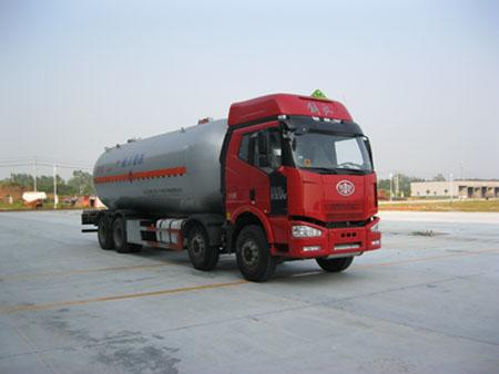 解放J6前四后八液化气体运输车