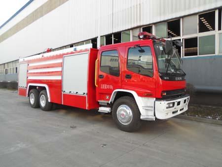 鲸象牌12吨水罐消防车专业评测