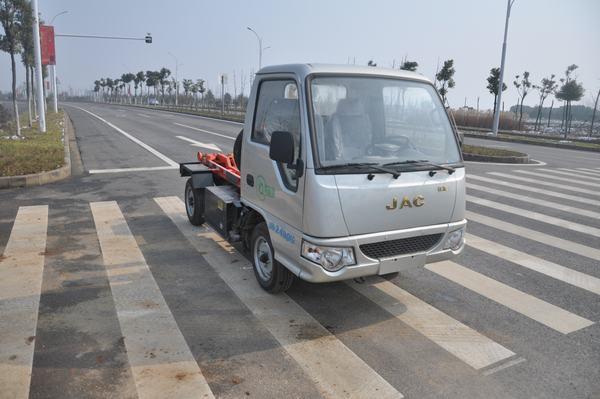 江淮电动纯电动车厢可卸式垃圾车