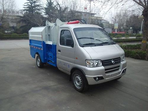 GZQ5022ZZZBEV纯电动自装卸式垃圾车