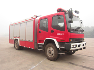 金盛盾牌A类泡沫消防车(JDX5150GXFAP50/W)发展趋势分析图片