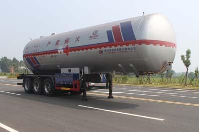 48.7立方液化气体运输半挂车(二甲醚)