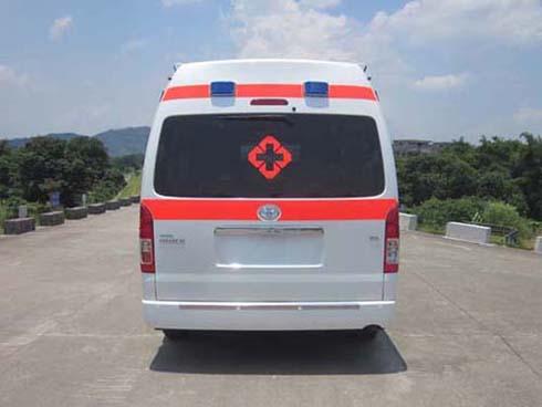 进口丰田海狮救护车(监护型)