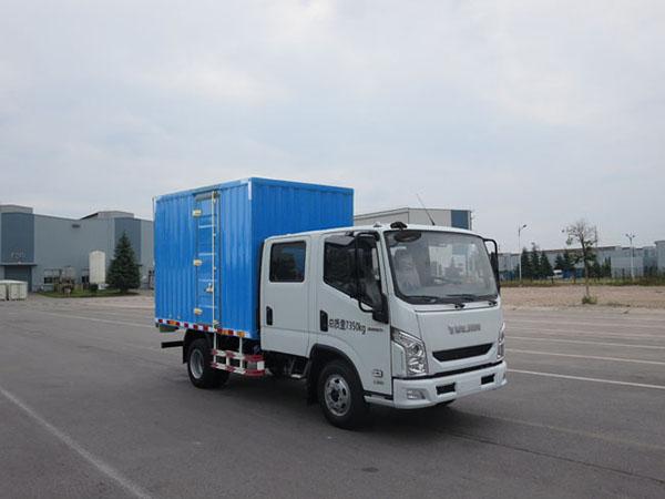 跃进牌厢式运输车_价格_报价_图片-南京汽车集团有限