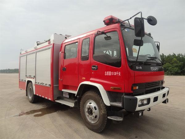 如何选购性价比高的【金盛盾牌泡沫消防车(JDX5150GXFPM50/W)】图片