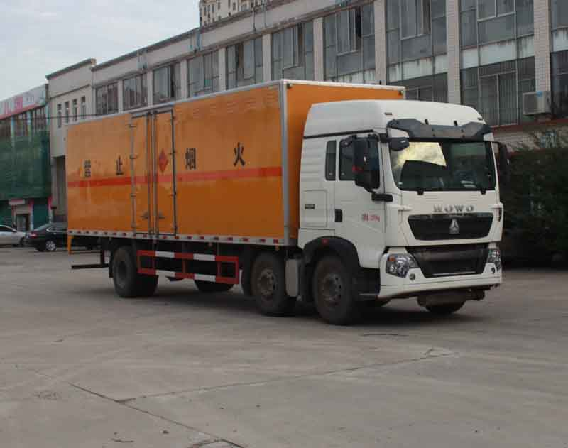 SGZ5238XRYZZ5T5易燃液體廂式運輸車