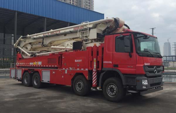 举高喷射消防车有哪些种类?