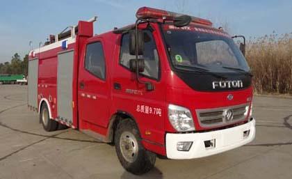 飞雁5吨水罐消防车