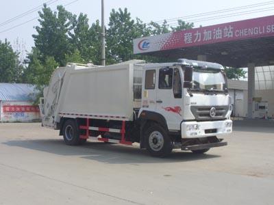 重汽压缩式垃圾车(国五12方)