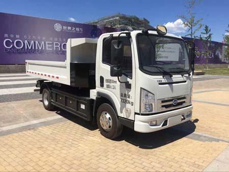 HLT5070ZLJEV纯电动自卸式垃圾车