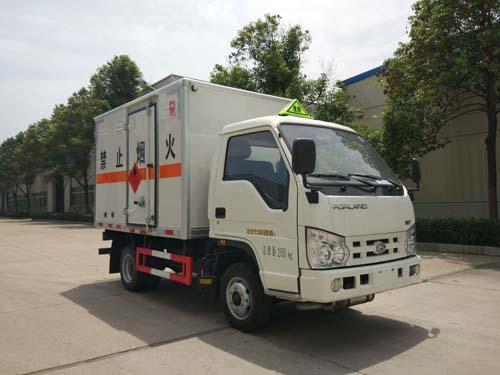 福田时代易燃气体厢式运输车