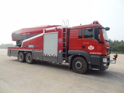 涡喷消防车图片