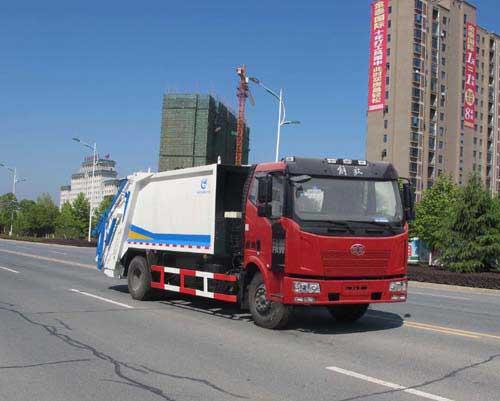 程力压缩式5吨垃圾车价格表