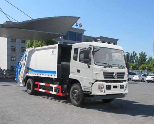 随州压缩式6吨垃圾车液压系统故障判断及处理