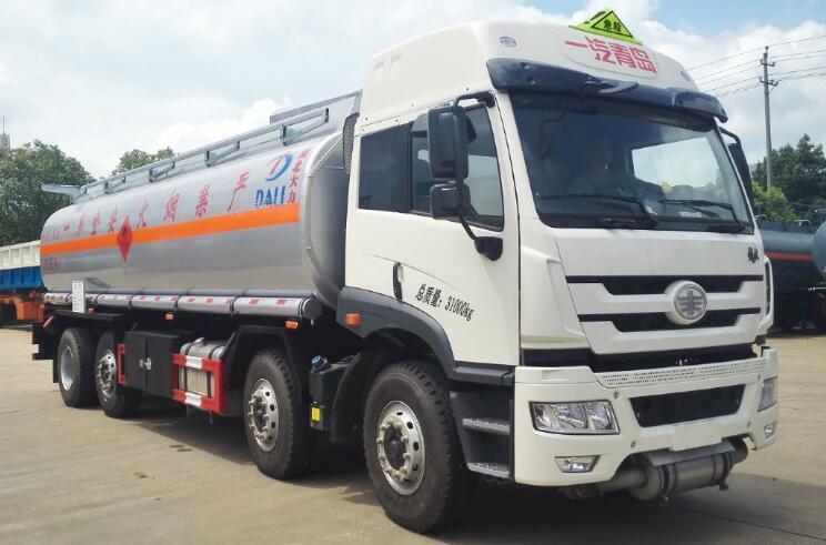 解放20噸鋁合金運油車