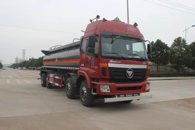 SCS5311GFWBJ腐蚀性物品罐式运输车