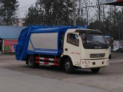 CLW5121ZYSE5压缩式垃圾车