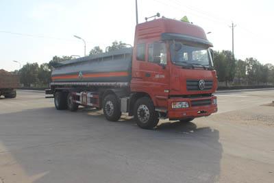 SCS5320GFWEQ腐蚀性物品罐式运输车