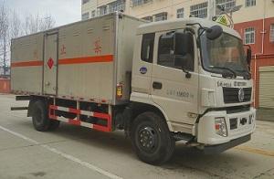 CLW5160XRYE5易燃液體廂式運輸車