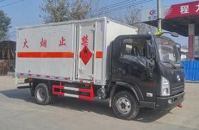 陕汽轩德爆破器材运输车