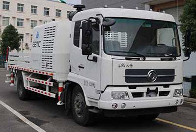 高漠车载式混凝土输送泵车图片