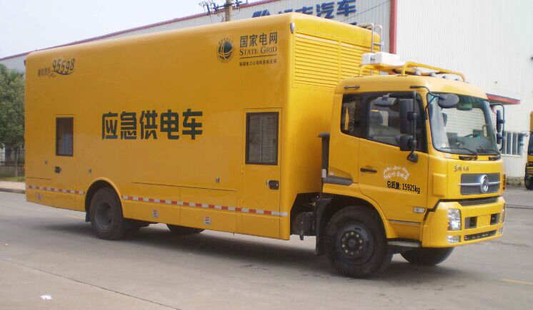 东风天锦移动电源车图片