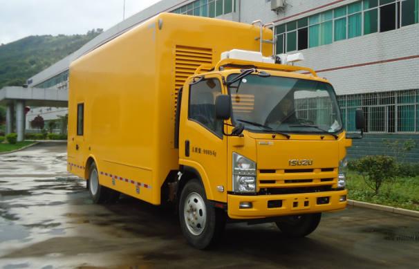 700P单排电源车