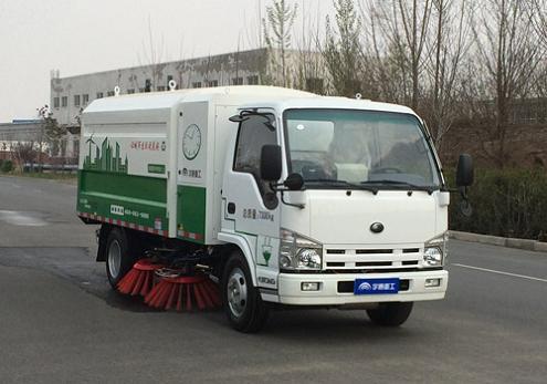 YTZ5070TSLZZBEV纯电动扫路车
