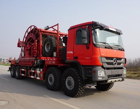 SJX5551TLG连续油管作业车