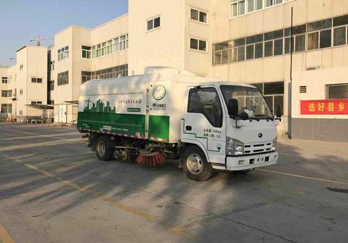 YTZ5070TXSZ0BEV纯电动洗扫车
