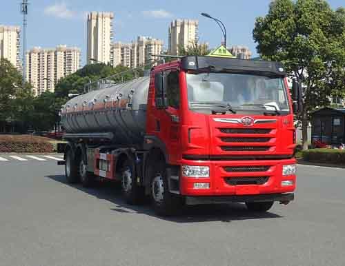 HZZ5312GFW腐蚀性物品罐式运输车