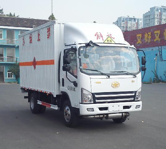 CA5085XRQP40K2L2E5A84易燃气体厢式运输车