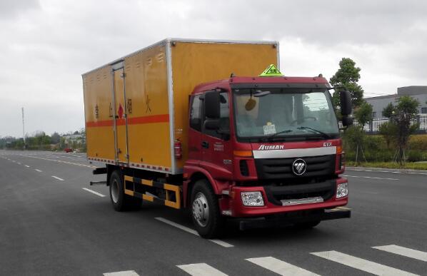 DLQ5160XRQB5易燃气体厢式运输车