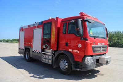 LLX5184GXFPM60/T5G泡沫消防车