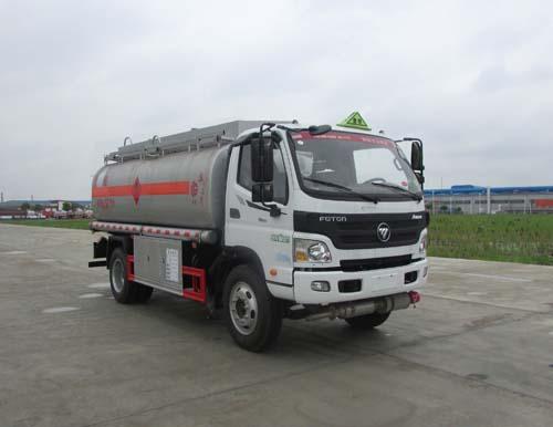 福田歐馬可國五油罐車|8噸加油車配置