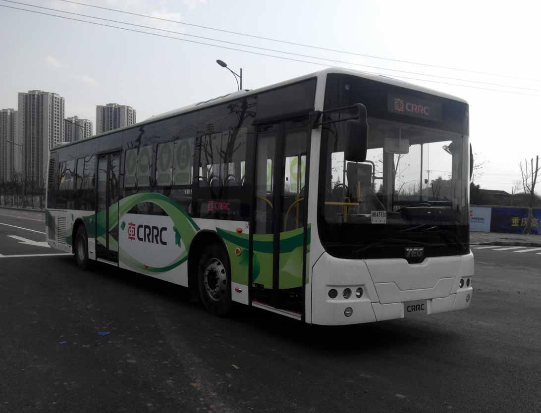 TEG6129EHEV11混合动力城市客车