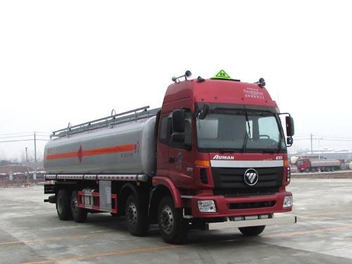 欧曼前四后四铝合金 20吨 油罐车