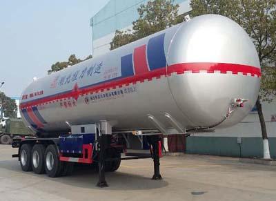 58.3立方液化气体运输半挂车(异丁烷)