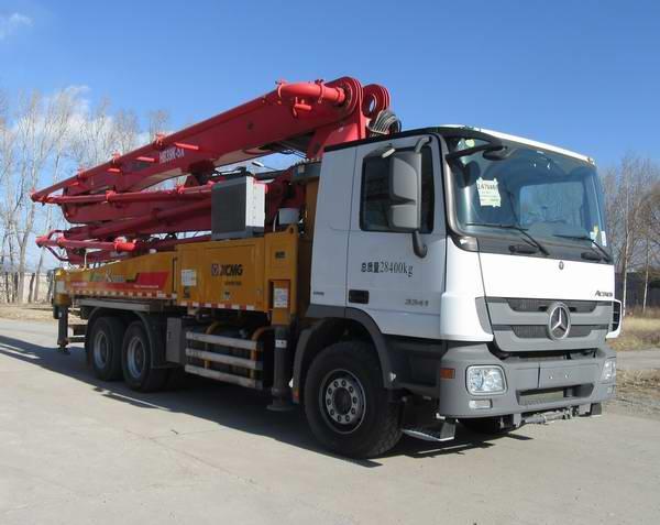 XZJ5284THB混凝土泵车