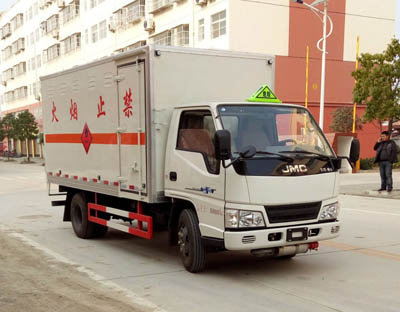 CLW5061XRYJ5易燃液體廂式運輸車