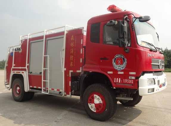 LYX5110GXFSL20森林消防车
