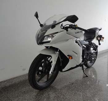 整车型号:qj150-30  品牌:两轮摩托车   燃油种类:汽油   防抱死系统