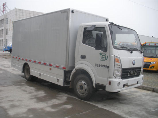 HQG5042XXYEV2纯电动厢式运输车