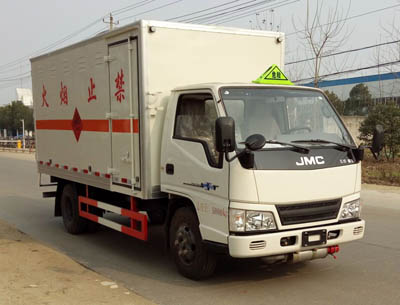 江铃新顺达单排爆破器材运输车